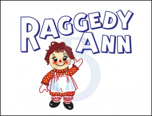 Raggedy Ann illustration