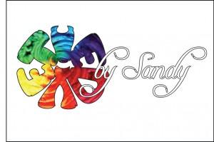 Sandy Tie Dye logoc
